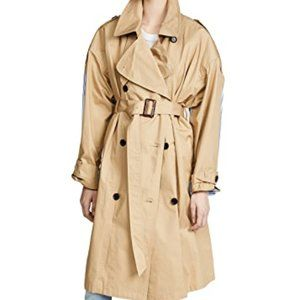 pushBUTTON Combo Trench Coat NEW/shopbop
